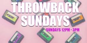 Throwback Sundays