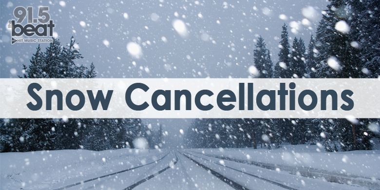 Snow Cancellations