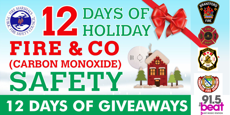 The Beat Holiday Fire Safety Sweepstakes