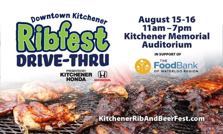 Downtown Kitchener Ribfest Drive-Thru