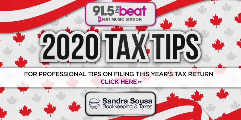 2020 Tax Tips from Sandra Soussa Bookkeeping!