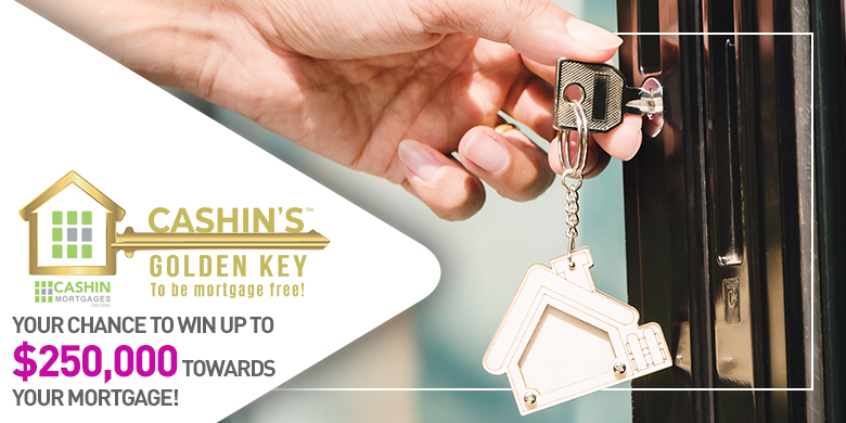 Cashin Mortgages Golden Key to be Mortgage Free